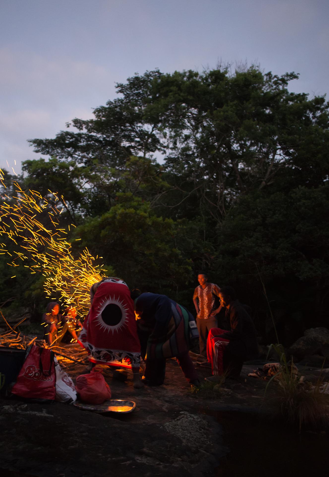 Bonfire of celebration