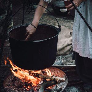 Steam bath using different natural medicines